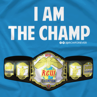 I am the RCW Champ!