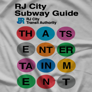 RJ City RJ City Subway T-shirt