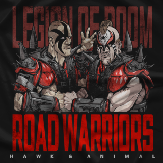 Road Warriors Doomsday Device T-shirt