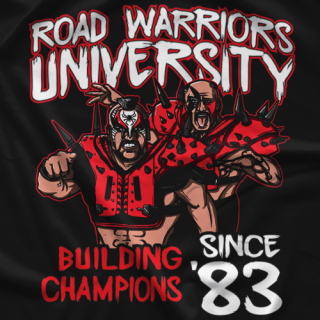 Road Warriors University T-shirt