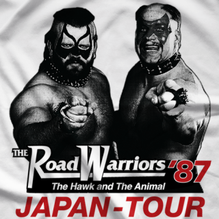 Road Warriors '87 T-shirt