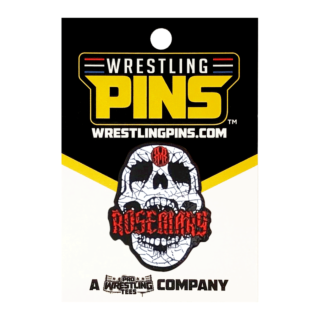 Rosemary - Skull Wrestling Pin