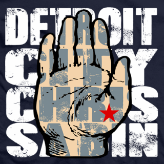 Chris Sabin Detroit T-shirt