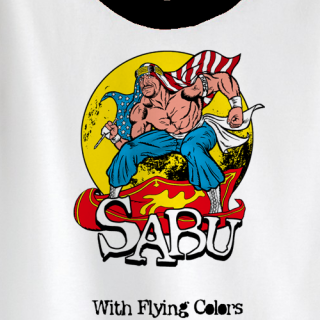 Sabu Flying Colors T-shirt