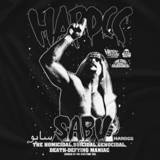 Sabu Hardcore Legend Red T-shirt