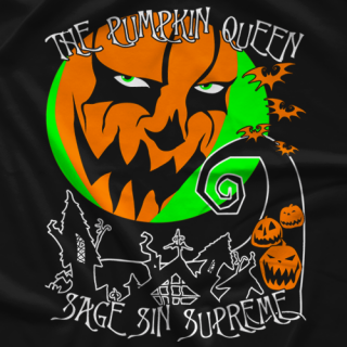 Sage Sin Queen Before Christmas T-shirt
