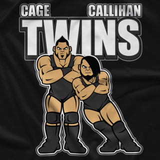 Twins Cartoon T-shirt