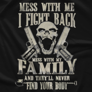 Saraya Knight Don't Mess With T-shirt