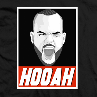 Sarge Chris Melendez HOOAH T-shirt