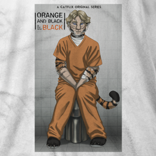 Orange And Black Is The New Black T-shirt