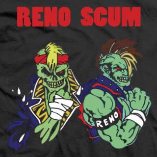 Reno scum official t shirt and merchandise store for Reno t shirt printing