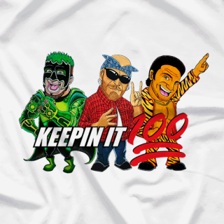 Keepin' It 100 Toons (White)