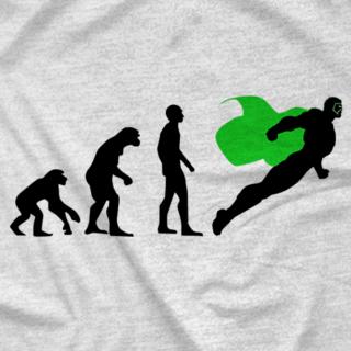 Evolution of a Superhero