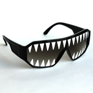 Macho Man Shark Savage Glasses