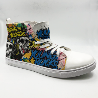 Superkicks™ High Tops - Young Bucks Killing The Business (3-4 Weeks to Ship)