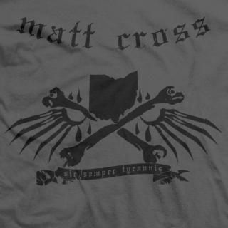Matt Cross Sic Semper Tyrannis T-shirt