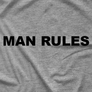 Silas Young Man Rules T-shirt