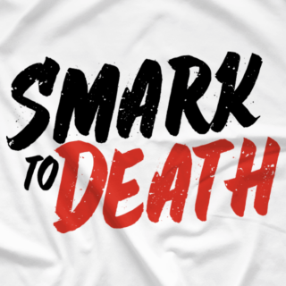 Smark to Death Logo (White)