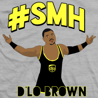Dlo Brown #SMH T-shirt