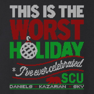 SCU Worst Holiday Sweatshirt