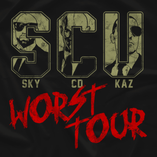 SCU - Worst Tour (Double-Sided)