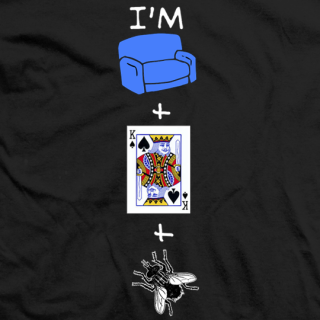 Crime Time I'm Sofa King Fly T-shirt