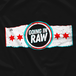 Chicago Flag Going In Raw