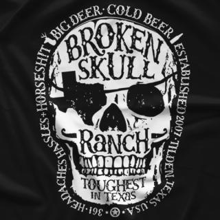 Steve Austin Mechanical Skull T-shirt