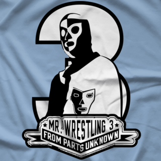 Steve Corino Mr. Wrestling Parts Unknown T-shirt