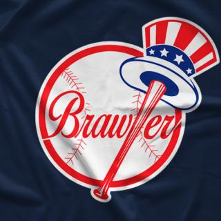 Steve Lombardi Brooklyn Brawler Brawlers T-shirt