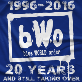 Stevie Richards BWO 20th Anniversary T-shirt