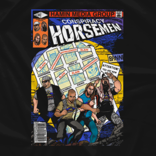 Conspiracy Horsemen Comic Cover