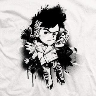 Street Art Zema T-shirt