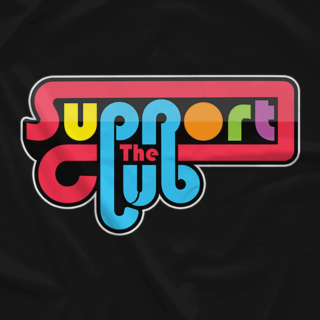 The Support Club Retro T-Shirt (Available in 3 Colors!)