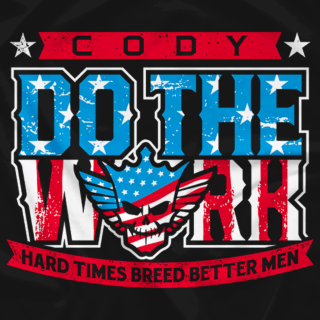 Cody - Do The Work Flag