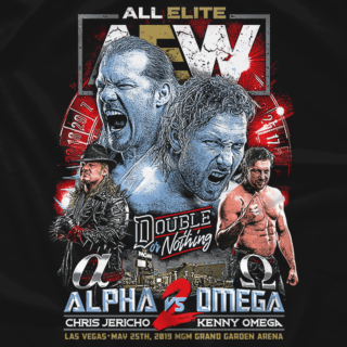 Double or Nothing Matchup: Chris Jericho Vs. Kenny Omega (Front Print Only)