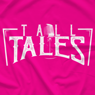 Tall Tales Logo (Heliconia/Bright Pink)