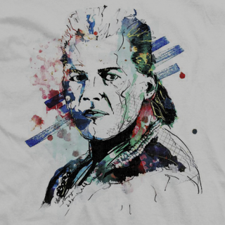 Tatanka Painting T-shirt