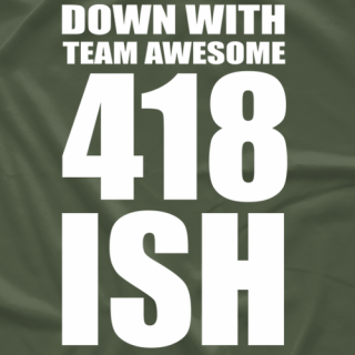 Down with 418