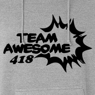 Team Awesome Pullover Hoodie