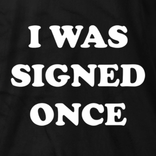 Signed Once