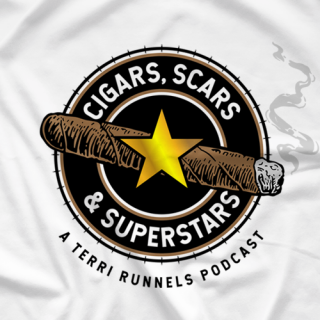 Cigars, Scars and Superstars on White