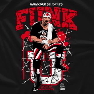 Terry Funk Funk U Kamikaze T-Shirt