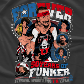 Terry Funk 50 Years of Funker T-Shirt