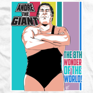 Andre The Giant The Eighth Wonder T-shirt