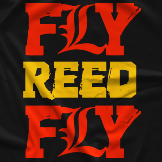 Fly Reed Fly #2 T-shirt