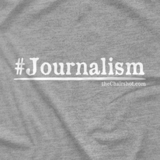 #Journalism (Available in 9 Different Colors)
