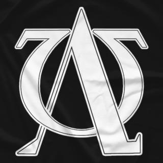 Alpha/Omega White Logo