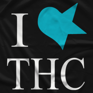 The Hell Cats I Love THC T-shirt