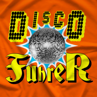 The Lapsed Fan Podcast Disco Fuhrer T-shirt